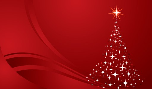 christmas_tree_background_red